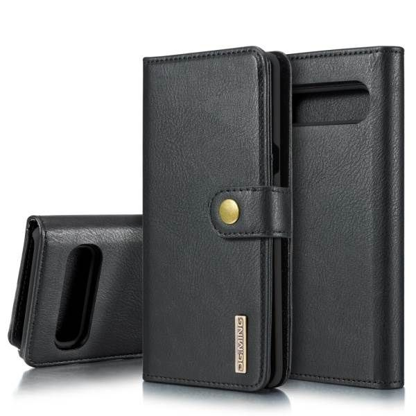 Detachable Ming Wallet Black Samsung S10 - Bling Cases.com