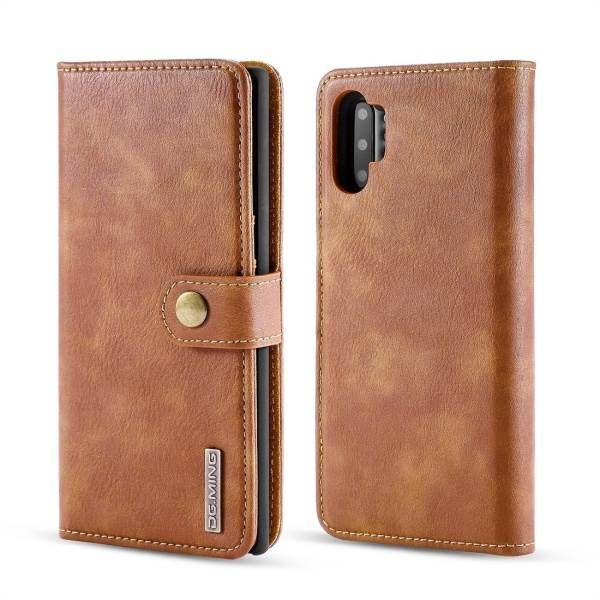 Detachable Wallet Ming Brown Samsung Note 10 - Bling Cases.com