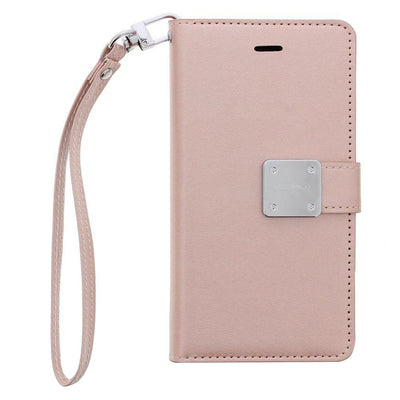 Wallet Rose Gold J3 2018 - Bling Cases.com