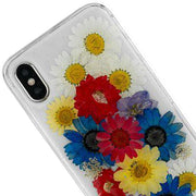Real Flowers Rainbow Iphone 10/X/XS