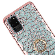 Abstract Ring Case Rose Gold Samsung S20 Ultra