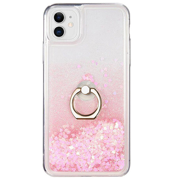 Liquid Ring Pink Case Iphone 11