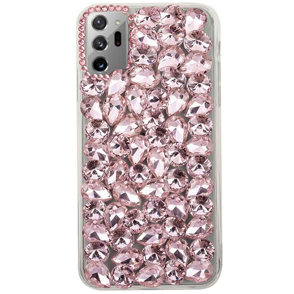 Handmade Bling Pink Case Note 20 Ultra