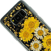 Real Flowers Yellow Flake Samsung S8