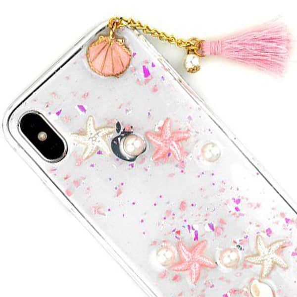 Seashells Clear Case Iphone 10/X/XS