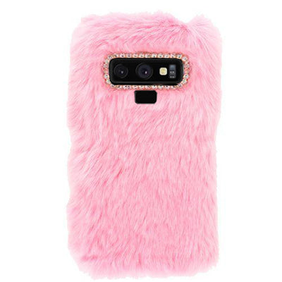 Fur Case Light Pink Samsung Note 9