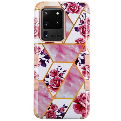 Roses Pink Military Grade Hybrid Case Samsung S20 Ultra