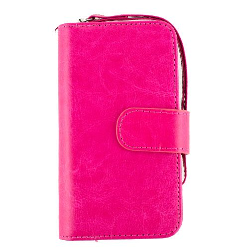 Detachable Hot Pink Wallet Samsung S7 Edge - Bling Cases.com