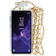 Handmade Cheetah Gold Bling Bottle Samsung S9