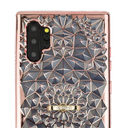 Abstract Ring Holder Case Rose Gold Note 10