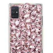 Handmade Bling Pink Silver Case Samsung A71