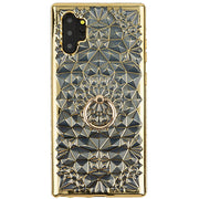 Abstract Ring Holder Case Gold Note 10