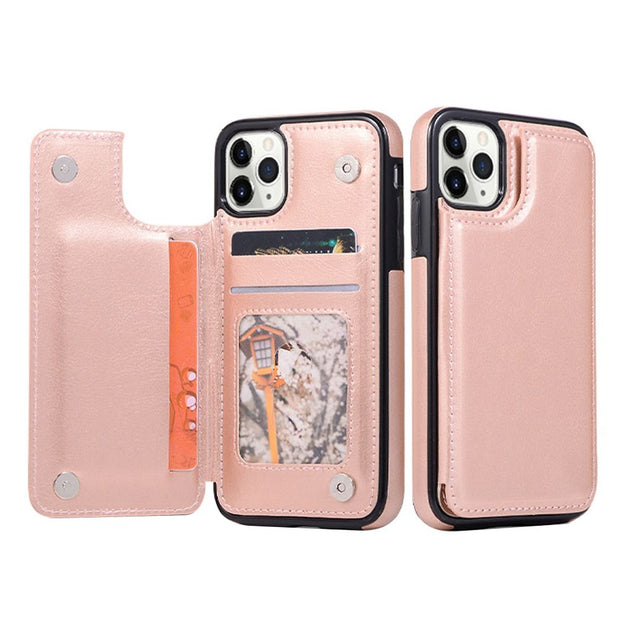 Book Card Rose Gold Iphone 11 Pro Max - Bling Cases.com