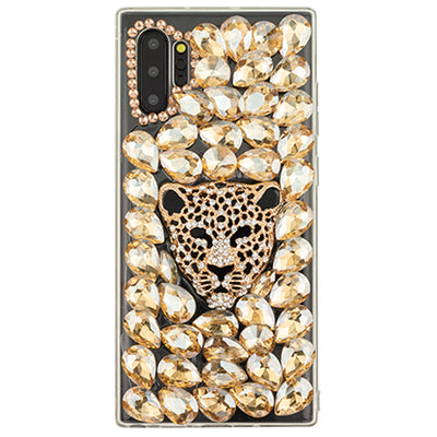 Handmade Gold Cheetah Case Samsung Note 10 Plus