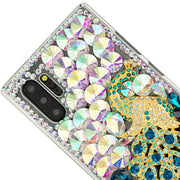 Handmade Peacock Bling Case Samsung Note 10 Plus