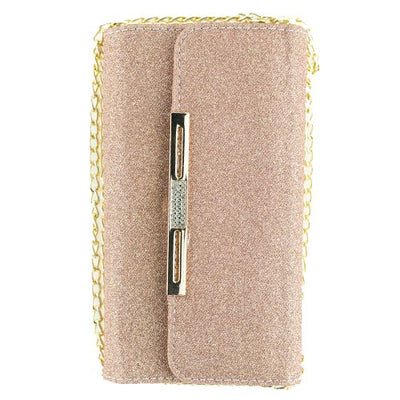 Detachable Purse Rose Gold Iphone 10/X/XS - Bling Cases.com