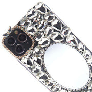 Handmade Bling Mirror Silver Case IPhone 12/12 Pro