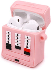 90'S Phone Skin Pink Airpods 1/2 - Bling Cases.com