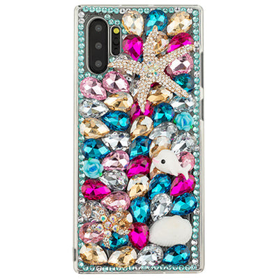 Handmade Seashells Bling Case Samsung Note 10 Plus