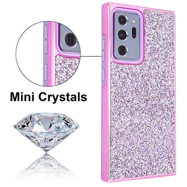 Hybrid Bling Purple Case Samsung Note 20 Ultra