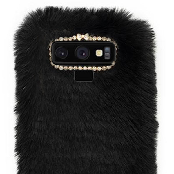 Fur Case Black Samsung Note 9