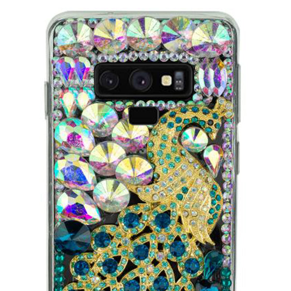 Handmade Peacock Bling Case Samsung Note 9