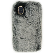 Fur Black Case Grey Samsung A51