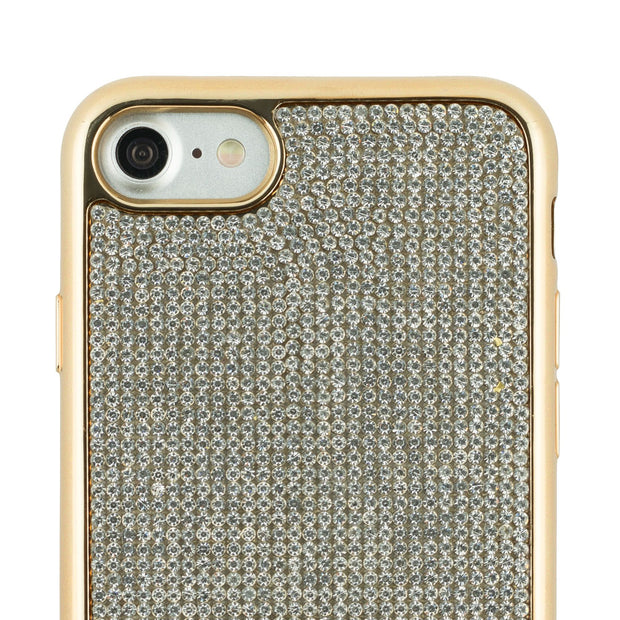 Bling Tpu Skin Silver Gold Iphone SE 2020 - Bling Cases.com