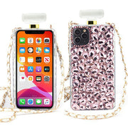Handmade Bling Pink Bottle Case Iphone 11 Pro
