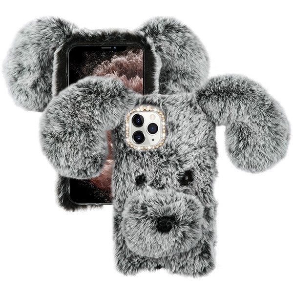 Fur Dog Grey Iphone 11 Pro - Bling Cases.com