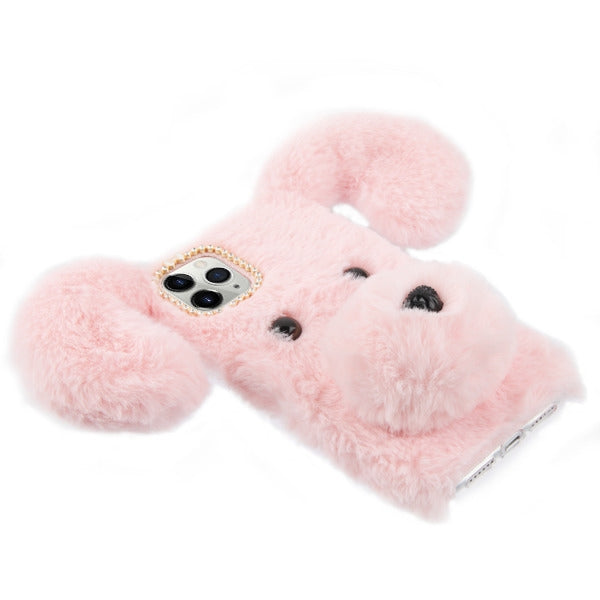 Fur Dog Pink Iphone 11 Pro Max - Bling Cases.com