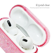 Glitter Bling Pink Airpods Pro - Bling Cases.com