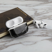 Black White Marble Airpods Pro - Bling Cases.com