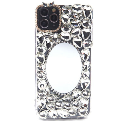 Handmade Bling Mirror Silver Case Iphone 11 Pro