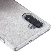 Glitter Pink Silver Case Samsung Note 10 - Bling Cases.com