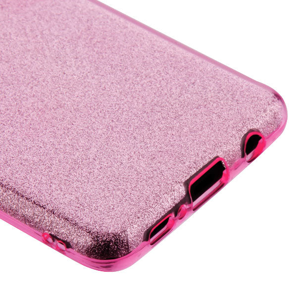 Glitter Pink Case Samsung S10 Plus - Bling Cases.com