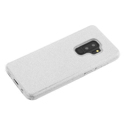 Glitter Silver Case Samsung S9 Plus - Bling Cases.com