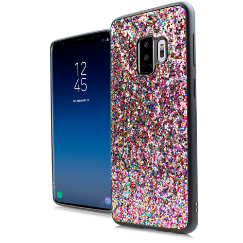 Glitter Rainbow Case Samsung S9 - Bling Cases.com