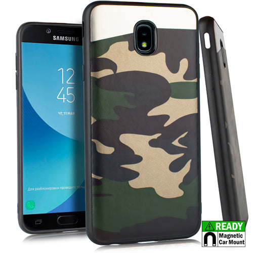 Slim Camo Green Case J3 2018 - Bling Cases.com
