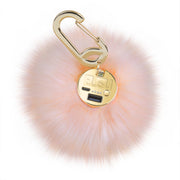 Furry Ball Charger Pink - Bling Cases.com