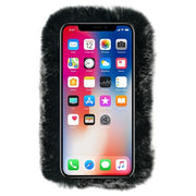 Fur Case Grey Iphone XS MAX - Bling Cases.com