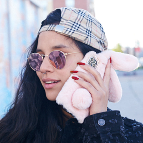 Bunny Case Light Pink  Iphone  11 Pro