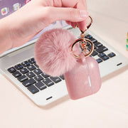 Fuzzy Ball Rose Gold - Bling Cases.com