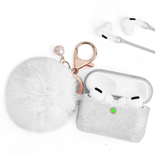 Fuzzy Ball White - Bling Cases.com