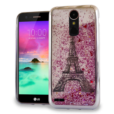 Liquid Paris Silver LG K30 - Bling Cases.com