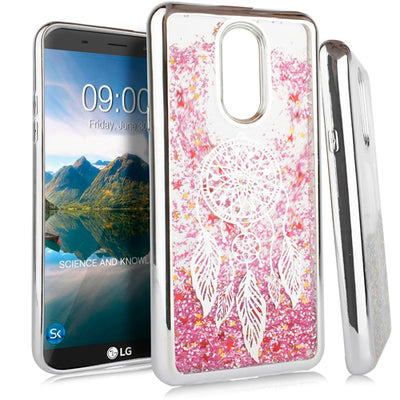 Liquid Dream Catcher Silver Lg Stylo 4 - Bling Cases.com
