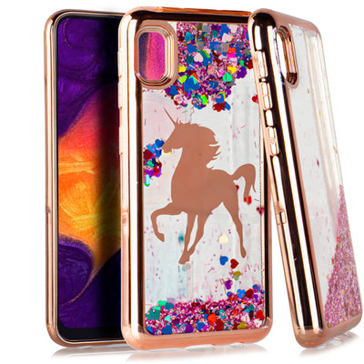 Liquid Unicorn Rainbow Samsung A10E - Bling Cases.com