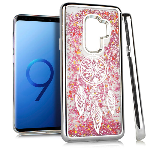 Liquid Dream Catcher Silver Case S9 Plus - Bling Cases.com