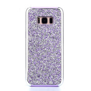 Hybrid Bling Case Purple Samsung S8 - Bling Cases.com