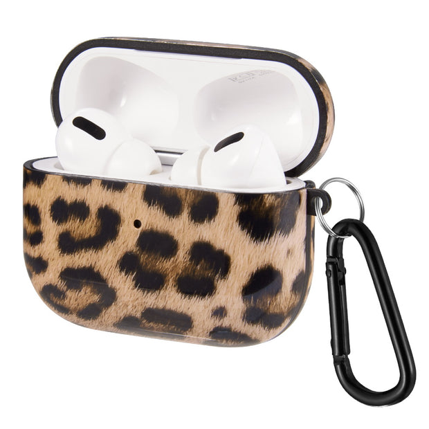 Brown Leopard Airpods Pro - Bling Cases.com